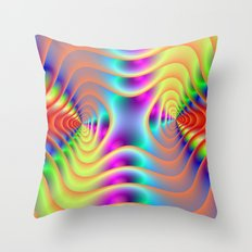 Double Spiral Throw Pillow