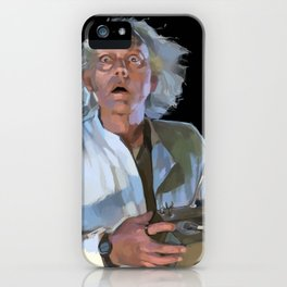 Doc Brown 2 iPhone Case