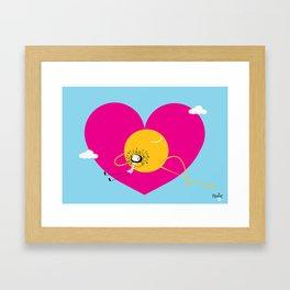 NenaLove Framed Art Print