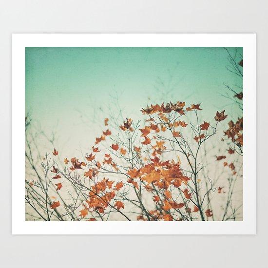 Falling Slowly  Art Print