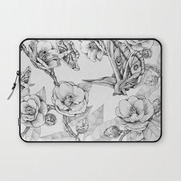 Moths & Camellias Laptop Sleeve