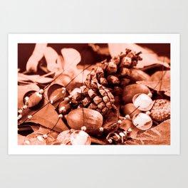 Tempore autumni Art Print
