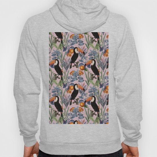 Tucan Garden #pattern #illustration by 83oranges