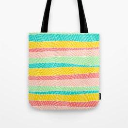 Beach Stripe (Vintage Candy) Tote Bag