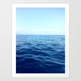 A Drop In The Ocean Art Print