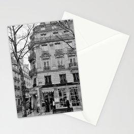 Paris Laduree Champs Elysées Black and White Stationery Cards