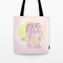 Sunny Tiger Tote Bag