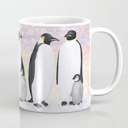 emperor penguin colony Coffee Mug