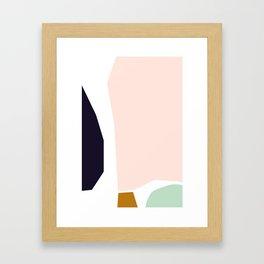 Strong Neutral Framed Art Print