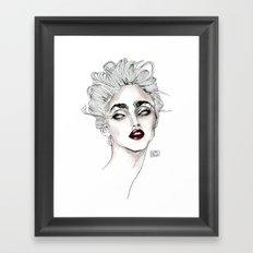 Vanity fair 1986  Framed Art Print
