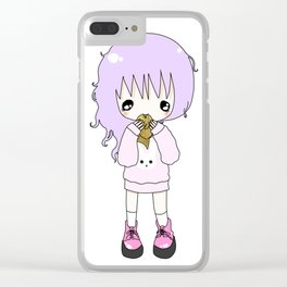 Taiyaki Kiss Clear iPhone Case