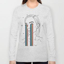Rainbow tears Long Sleeve T-shirt