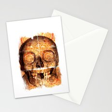 mosaica skully Stationery Cards