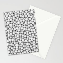 Golf balls Stationery Cards