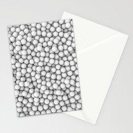 Golf balls Stationery Cards