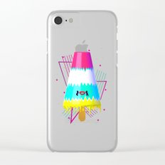 Popsicle III Clear iPhone Case