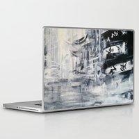 singapore Laptop & iPad Skins featuring Singapore II by Kasia Pawlak