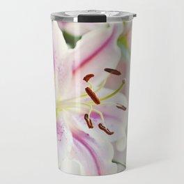 Stargazer Lily Travel Mug