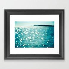 Sea Sparkle Framed Art Print