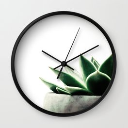 Simply Succulent Wall Clock