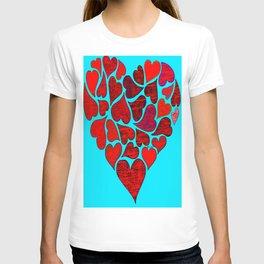 Valentines at Tiffanys T-shirt