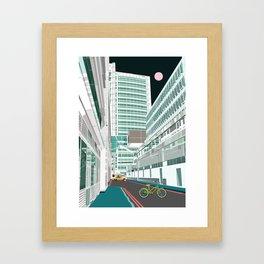 Warren Street Framed Art Print