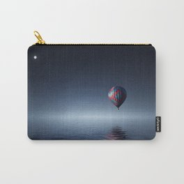 Hot Air Balloon Reflection Carry-All Pouch