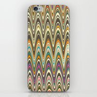 swag iPhone & iPod Skins featuring Swag stripe by Shelly Bremmer