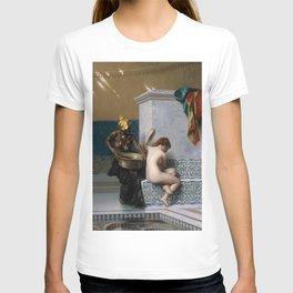 Jean-Leon Gerôme - Moorish Bath T-shirt
