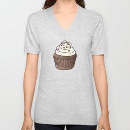 Cupcake Unisex V-Neck