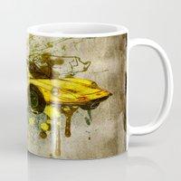 ferrari Mugs featuring Ferrari by Svetlana Sewell