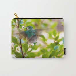 Hummingbird Summer Blur photography by CheyAnne Sexton Carry-All Pouch