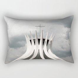 Cathedral | Brasília | Brazil Rectangular Pillow