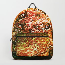 Windblown Cherry Blossom Backpack