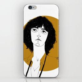 Patti Smith iPhone Skin