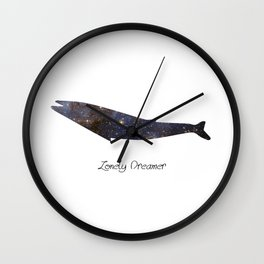 Lonely Dreamer 3 Wall Clock
