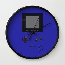 GAMEBOY Color - Dark Blue Version Wall Clock
