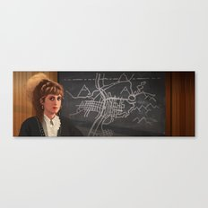 Interior Lucy Canvas Print