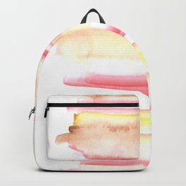 170603 Watercolour Colour Study 10  |Modern Watercolor Art | Abstract Watercolors Backpack
