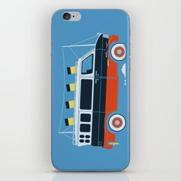The Titanic Van Sinks iPhone Skin