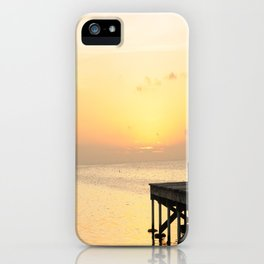 Sunset's in Belize iPhone Case