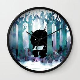 A Quiet Spot Wall Clock