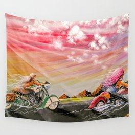 """""""Freedom ride"""" Wall Tapestry"""