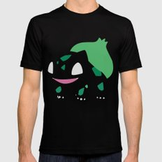 Bulbasaur Black LARGE Mens Fitted Tee