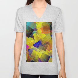 Reminiscence of a patchy summer ... Unisex V-Neck