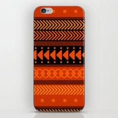 Under the Volcano - tribal geometrics iPhone Skin