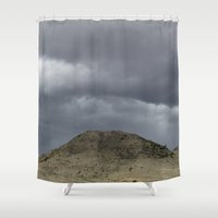 desert Shower Curtains featuring Desert by AlanW