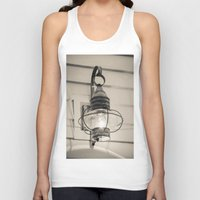 lantern Tank Tops featuring Vintage Lantern by Redhedge Photos
