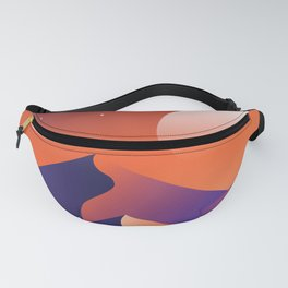 Jewel Desert Evening Fanny Pack