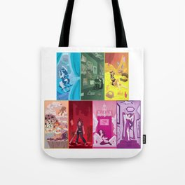 Seven Sinful Ladies Tote Bag